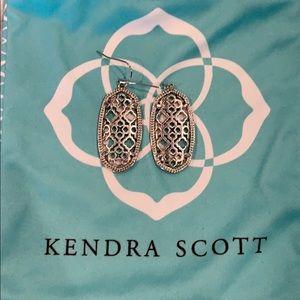 Kendra Scott Elle Earrings - Silver